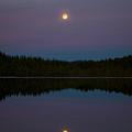 Moon Over Kirkas-soljanen 2 by Jouko Lehto