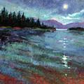 Moon Over Pend Orielle by Betty Jean Billups