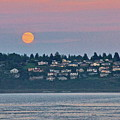 Moon Over Steilacoom by Sean Griffin