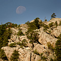Moon Over The Hills by Mike Oistad