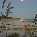 Moon Over Waties Island by Beebe  Barksdale-Bruner
