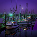 Moon Over Winchester Bay by Robert Potts