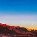Moon Rise Over Palo Duro  by Donna Lee Nyzio