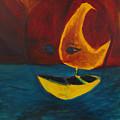 Moon Ship by Marius Manea