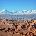 Moon Valley Atacama Desert by Delphimages Photo Creations