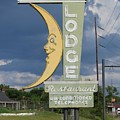 Moon Winx Lodge Sign by Charles Green