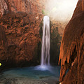 Mooney Falls Grand Canyon 1 by Bob Christopher