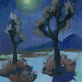 Moonlight And Joshua Tree by Diane McClary