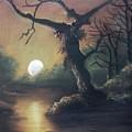 Moonlight Harmony by Leela  Muthu