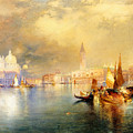 Moonlight In Venice by Thomas Moran