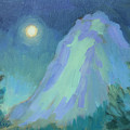 Moonlight On Lily Rock by Diane McClary