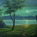 Moonlight Over The Sea by John magne Lisondra