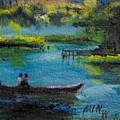 moonlight Ride by Min Wang