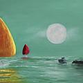Moonlight Sailnata by Ken Figurski