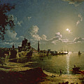Moonlight Scene by Sebastian Pether