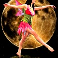 Moonlight Stroll Of A Fairy by Jon Volden