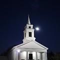 Moonlit Church by Jeff Porter