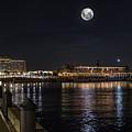 Moonlit Disney Contemporary Resort by Chris Bordeleau