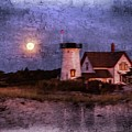 Moonlit Harbor by Patrice Zinck