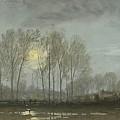 Moonlit Landscape by William Trost Richards