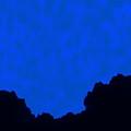 Moonlit Mountain 2 by Tim Richards