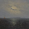 Moonlit Night By Ruegen by Celestial Images