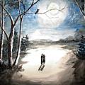 Moonlit Night Sweet Memory by Shashikanta Parida