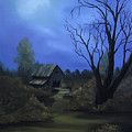 Moonlit Path by Johanna Lerwick
