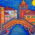 Moonlit San Barnaba by Lisa  Lorenz
