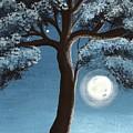 Moonlit Tree by Katie Slaby