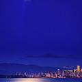 Moonlit Vancouver by Paul Kloschinsky