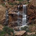 Moonlit Waterfall by Robert Visor