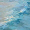 Moonlit Waves by Lisa H Ridabock
