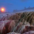 Moonrise At Mammoth by Steve Stuller