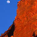 Moonrise In Grand Staircase Escalante by Sandra Bronstein
