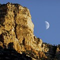 Moonrise Over Grand Canyon by NaturesPix