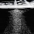 Moonrise Over The Atlantic  by Denise Goldstein