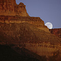 Moonrise Over The Grand Canyon by Michael Nichols