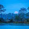 Moonset At The Hungryland by Tom Claud