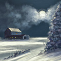 Moonshine On The Snow by Lois Bryan