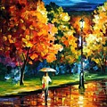 Moony Night by Leonid Afremov