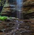 Moore Cove Waterfall In Pisgah National Forest by Ranjay Mitra