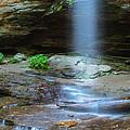Moore Cove Waterfall Panorama by Ranjay Mitra