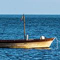 Moored Boat by Matt Swinden