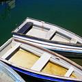 Moored Rowboats by John Kenealy