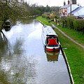 Mooring In England by Mindy Newman