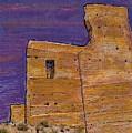 Moorish Fort In Jumilla by Sarah Loft