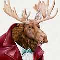 Moose in Maroon by Animal Crew