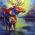 Moose by Patricia Lintner