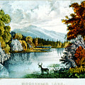 Moosehead Lake by Currier and Ives - Joy of Life Art